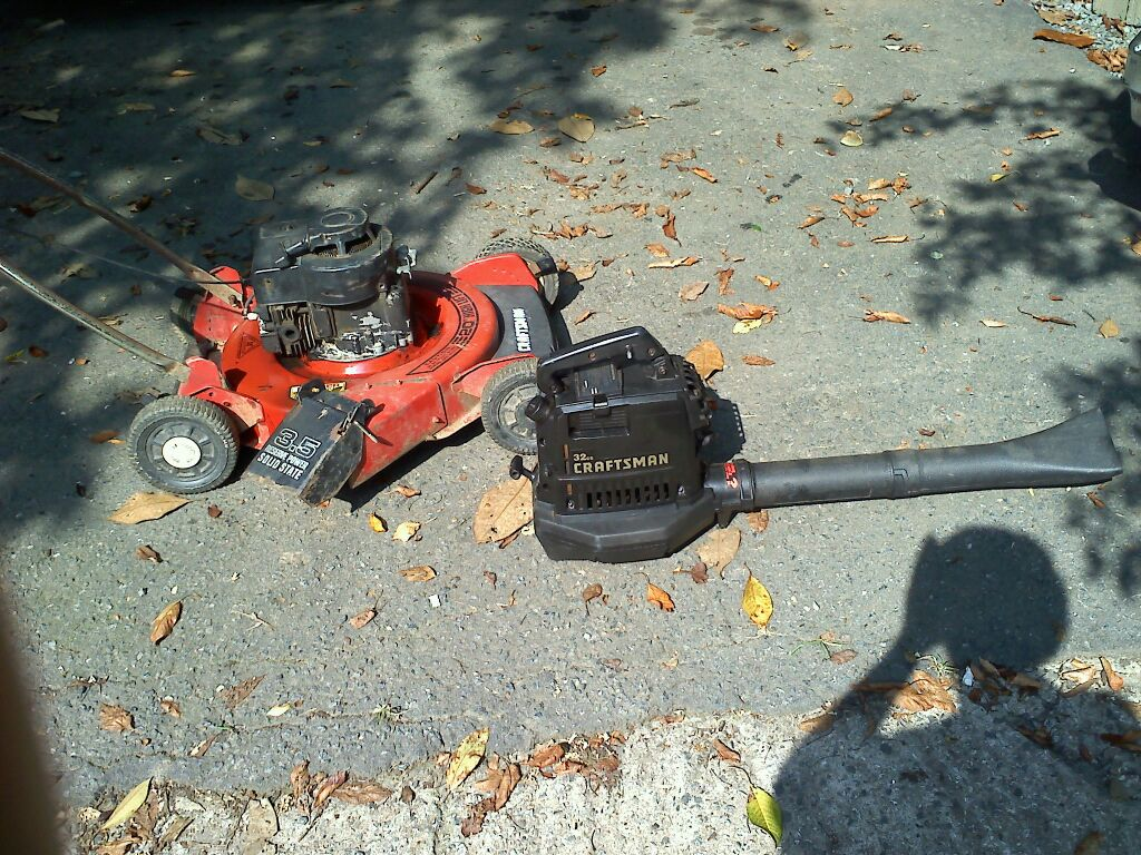 Pics Photos Lawn And Leaf Push Blower #8E5A3D