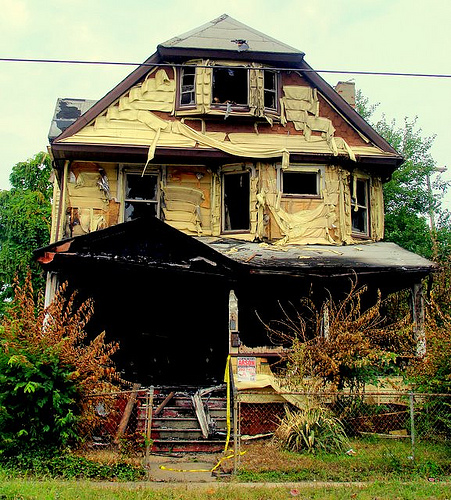 cleveland can it be saved homes go bankrupt university ohio
