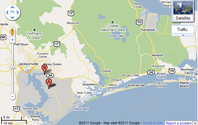 Map Of Crystal CoastYou39ll Want To See This Jacksonville
