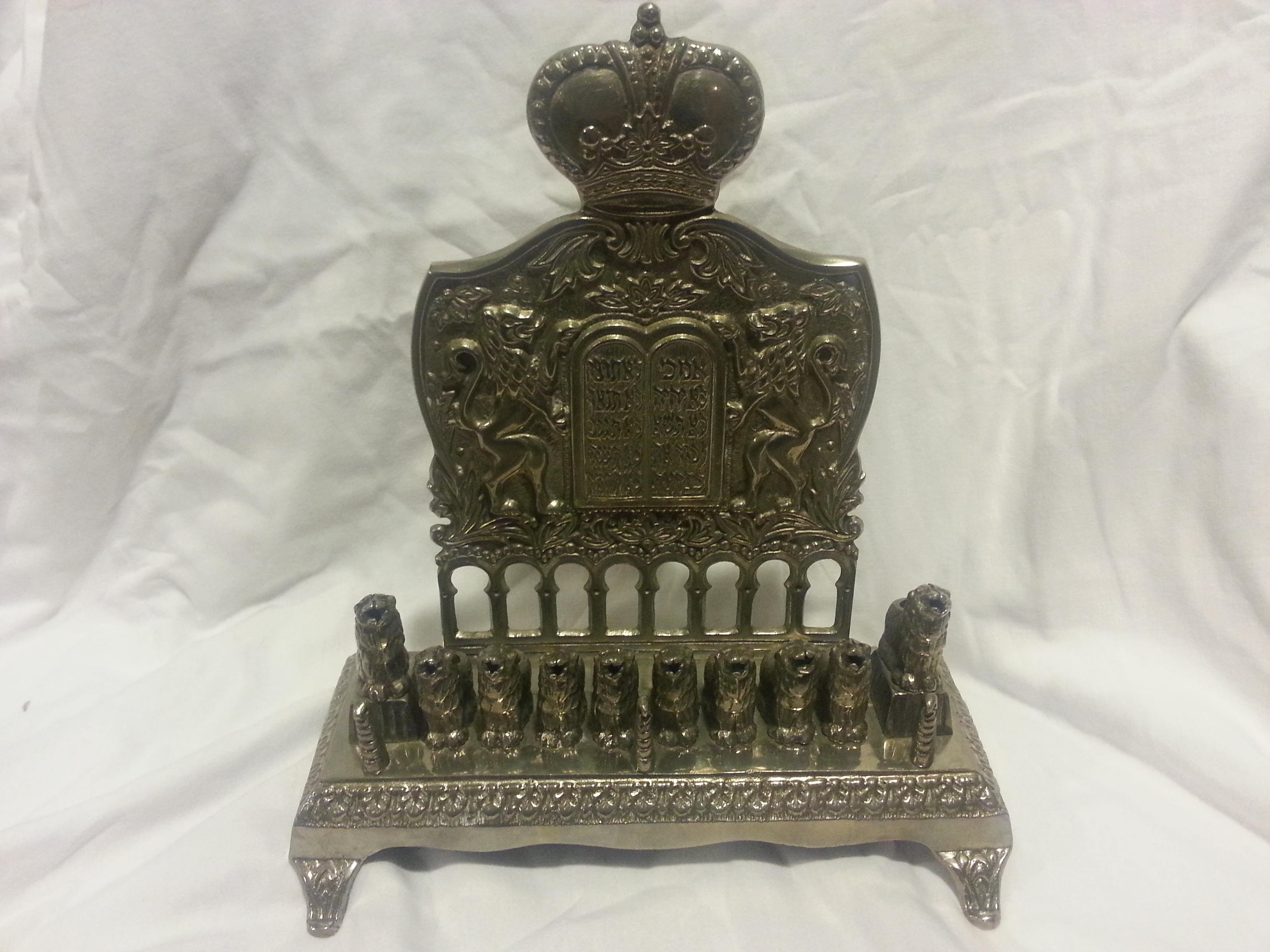 Antique menorah interest money value bit collecting for Valuable antiques and collectibles