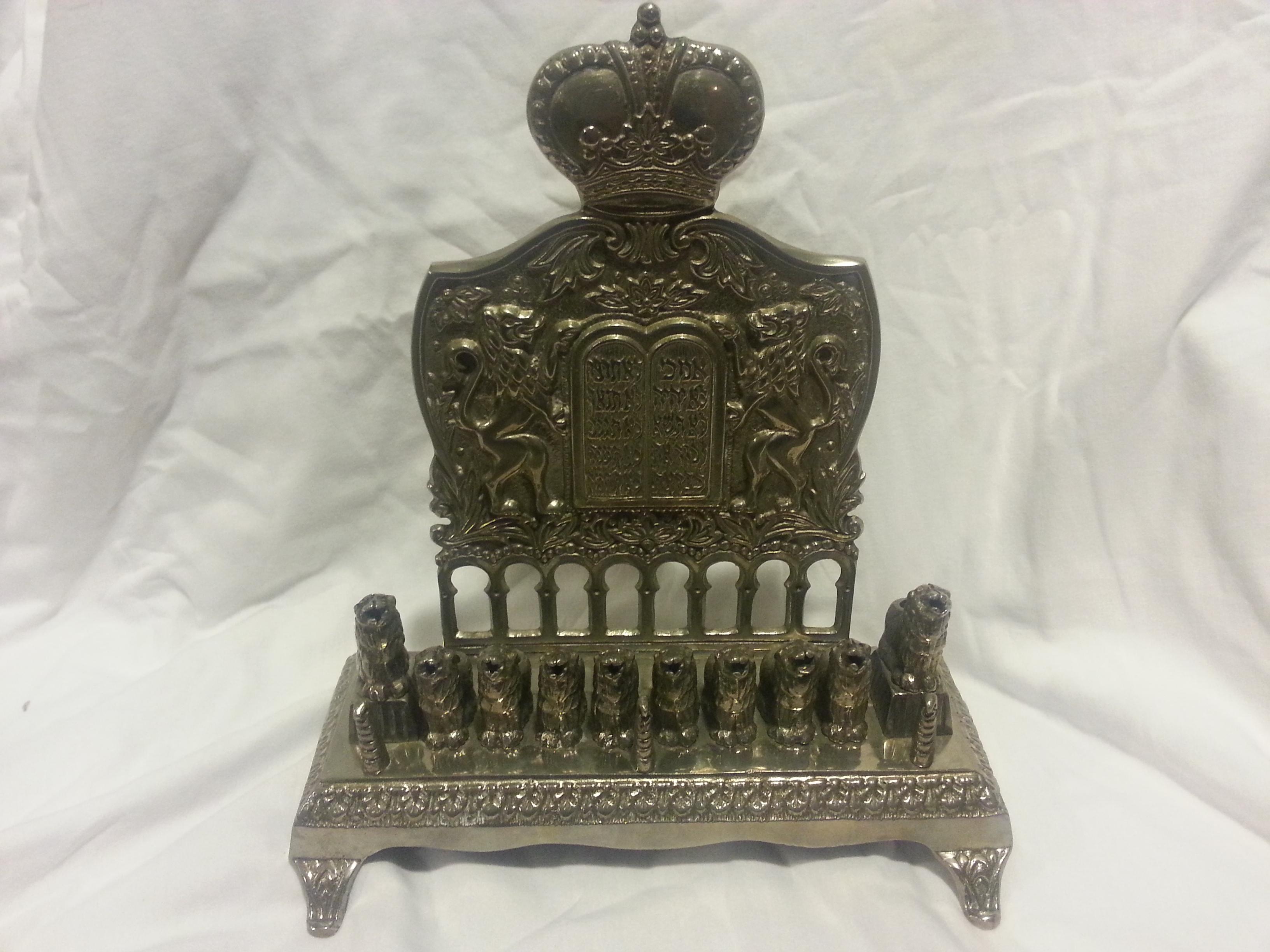 Antique menorah interest money value bit collecting for Antique items worth a lot of money