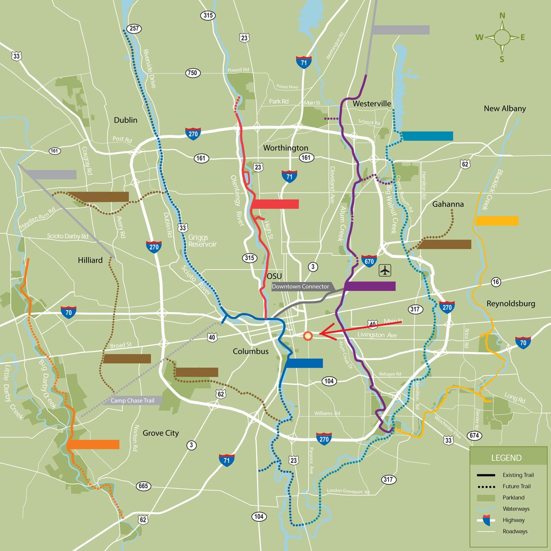 Commuting By Bike? (Columbus, Bexley, Grandview Heights