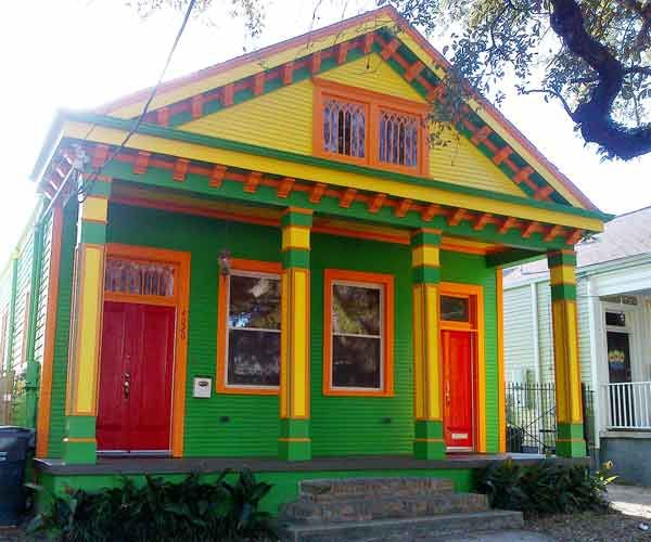 Yellow Painted Houses Best Home Exterior Paint Colors For Spring - Caribbean house colors exterior