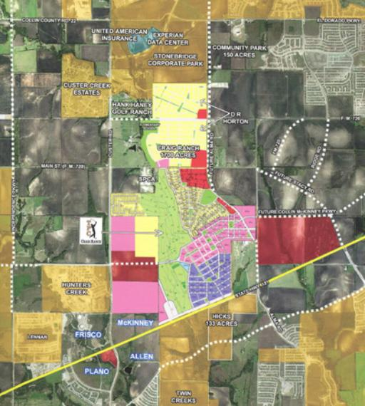 Subdivision Maps for McKinney? (Dallas, Plano: zoning, suburb