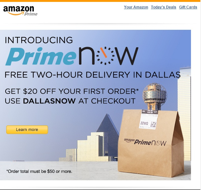 amazon now offers 2 hour delivery in dfw area buy zip codes dallas texas tx city data. Black Bedroom Furniture Sets. Home Design Ideas