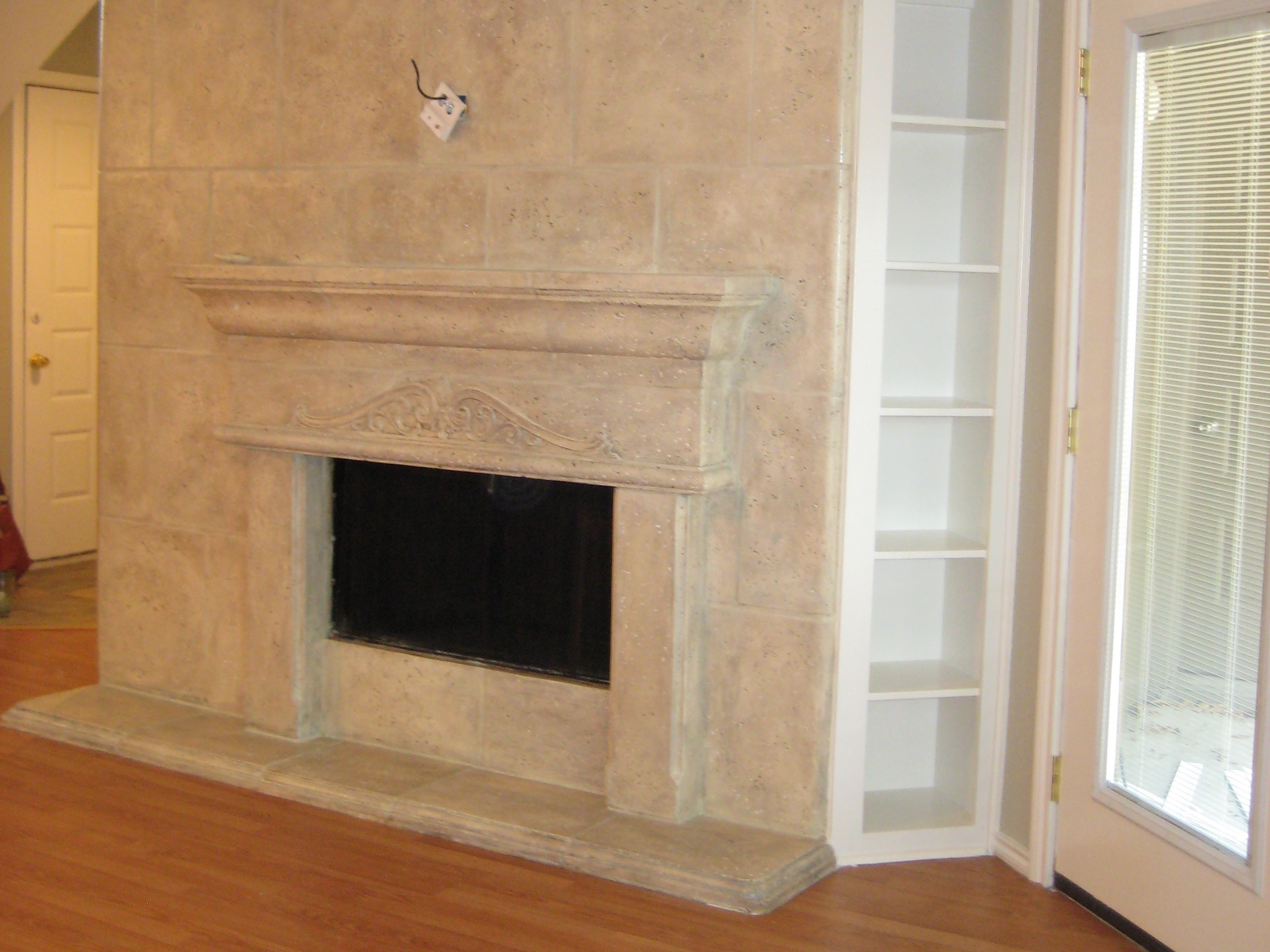 basement grand project renovation wall in img the around concept portfolio fireplace open mississauga contracting stone