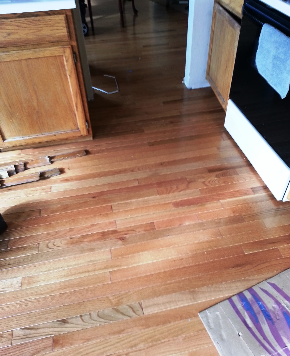 Hardwood floor install cost frustration stores health for Wooden flooring dealers