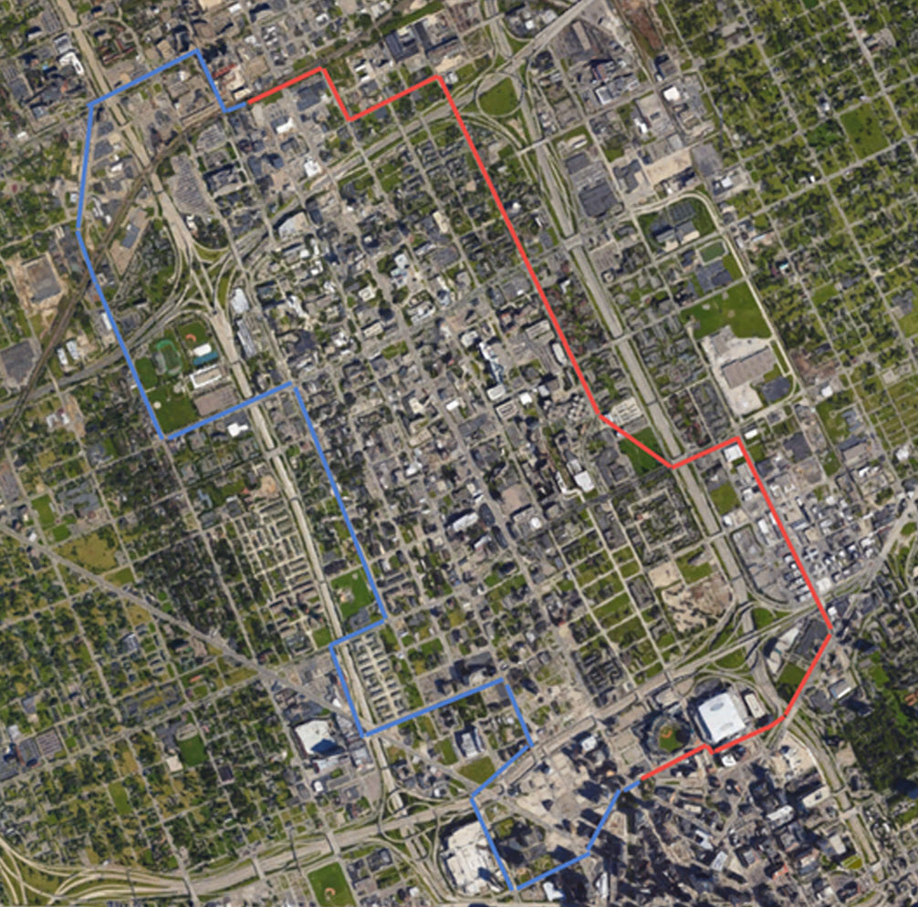 Proposal to expand the People Mover (Detroit, Ann Arbor: 2014 ...