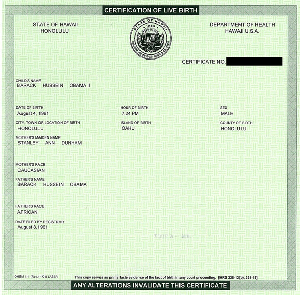 About the Obama birth certificate controversy. (Israeli, security ...