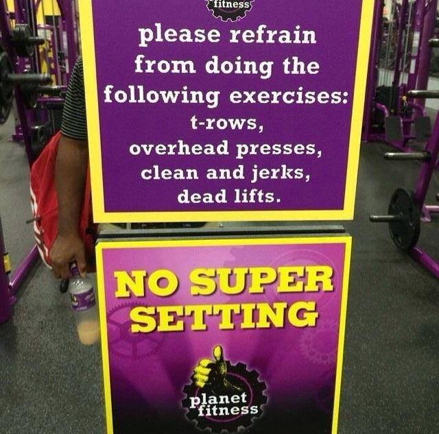 gym has all you can eat pizza to keep customers fat bodybuilding