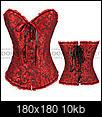 Alternative wedding skirt suggestions-red-black-corset.jpg
