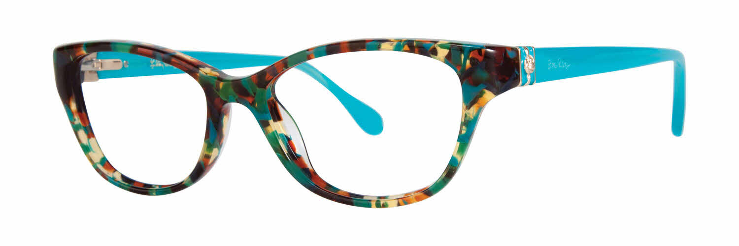 Lilly Pulitzer eyeglass frames (brown, look, clothes, thin ...