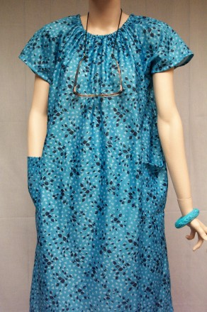 Wonderful Short Sleeve Polyester House Dress35 Off  Buck Amp Buck