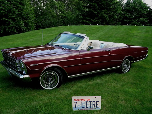 Our Old 66 Ford Galaxie 500 Luxury Car Idle Sell Engines