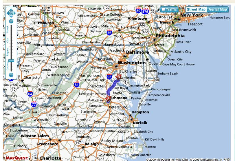Map Of Virginia And North Carolina With Cities Virginia Map - Maps of north carolina cities
