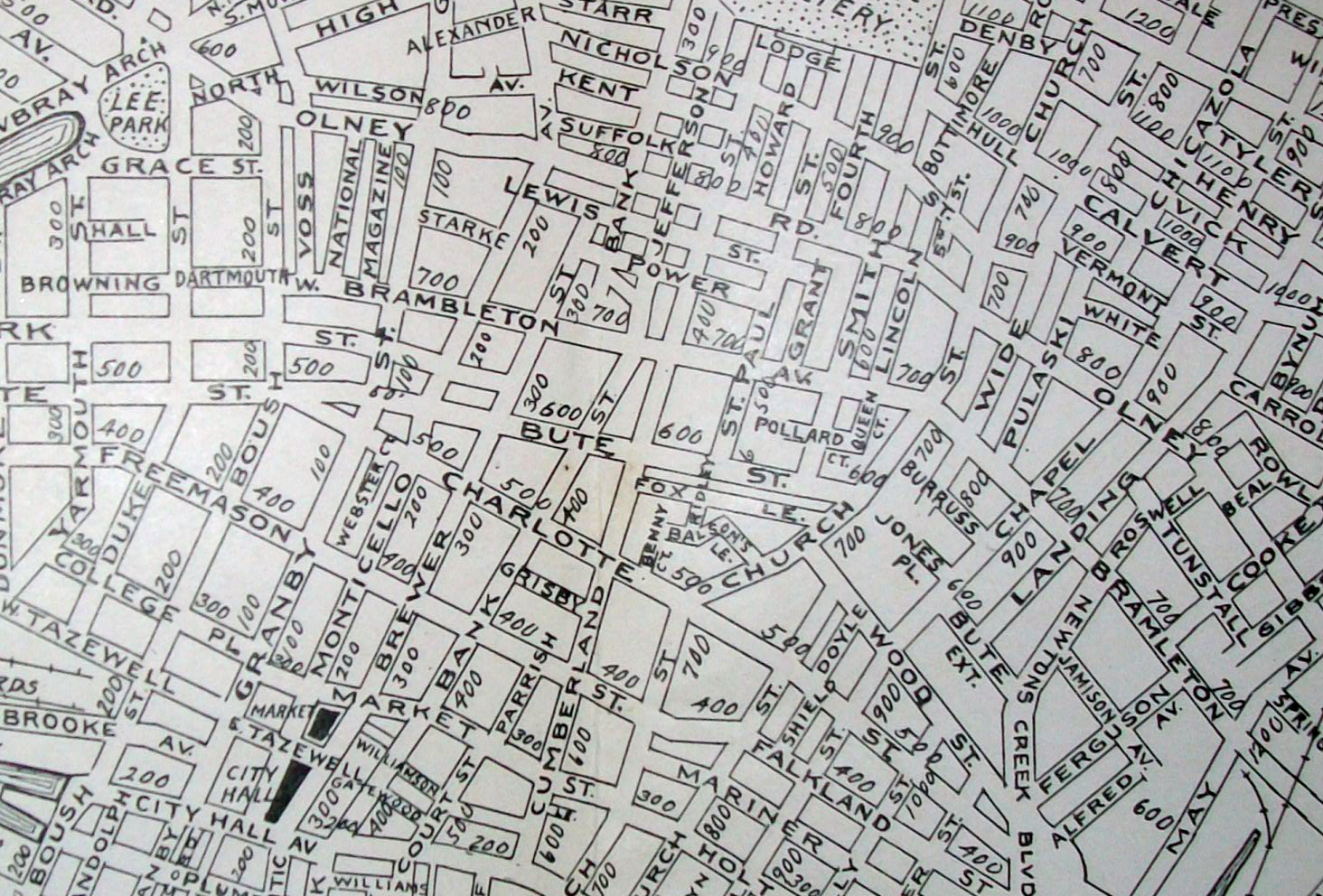 Old Maps American Cities In Decades Past Warning Large Images Norfolk