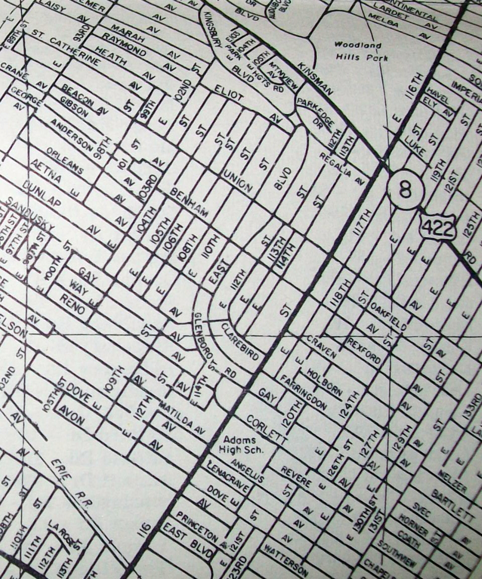 Old Maps American Cities In Decades Past WarningLarge Images - Us highway map 1960