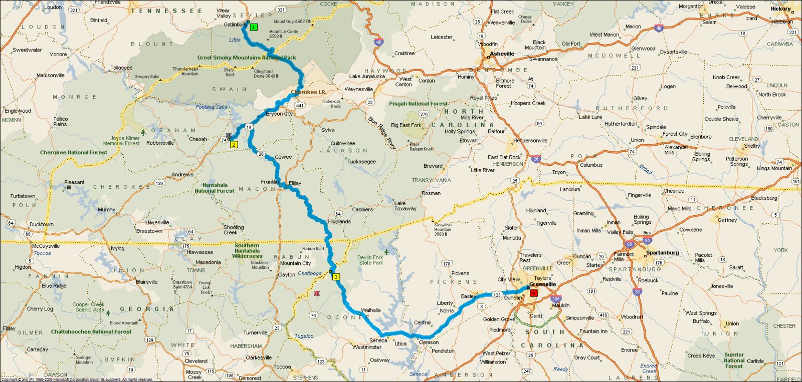 Need help with this segment of a road trip greenville for Motor mile greenville sc
