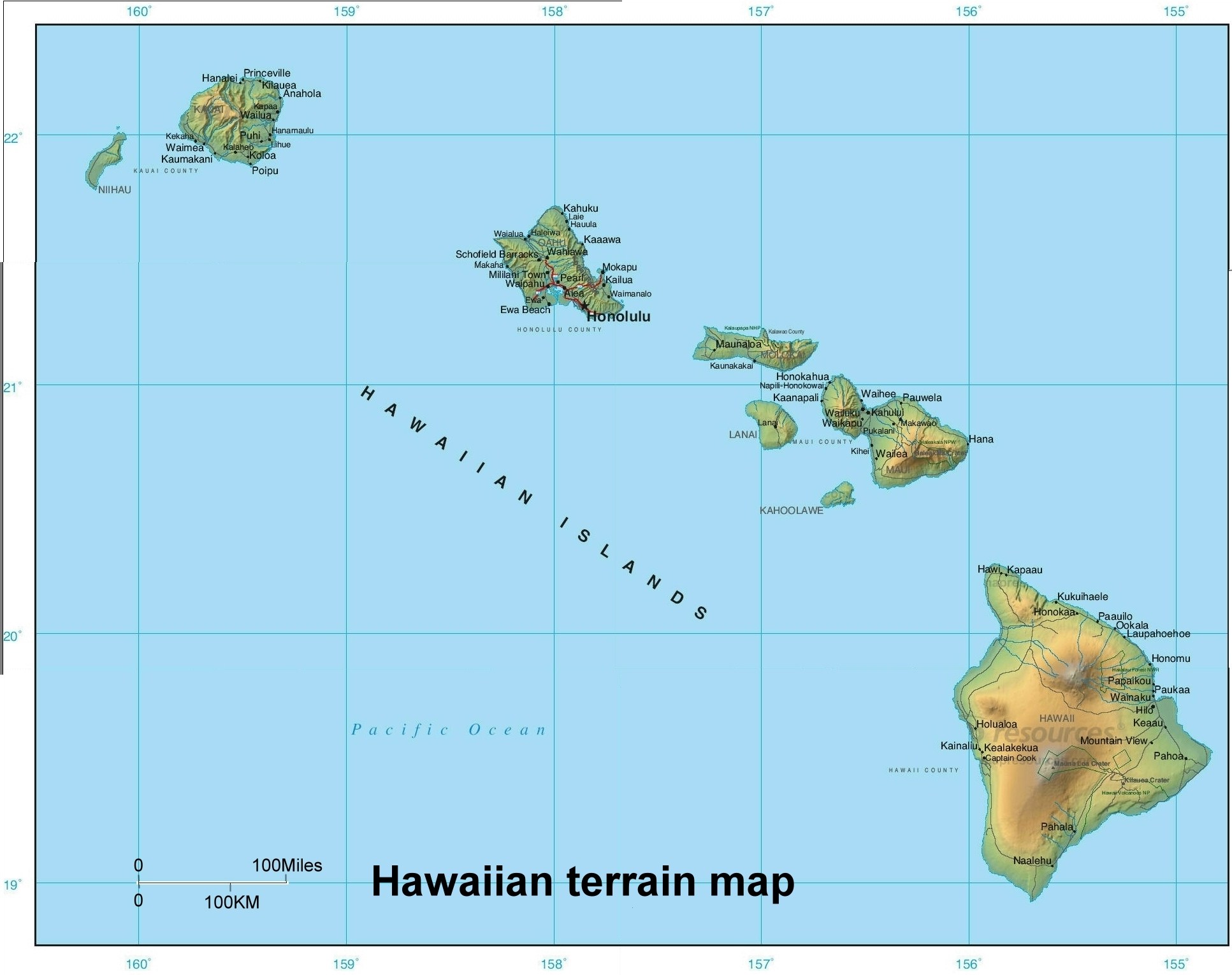 Honolulu hawaii world map afputra similiar map of hawaii on world map keywords which hawaiian island is the most progressive leftwing gumiabroncs Image collections