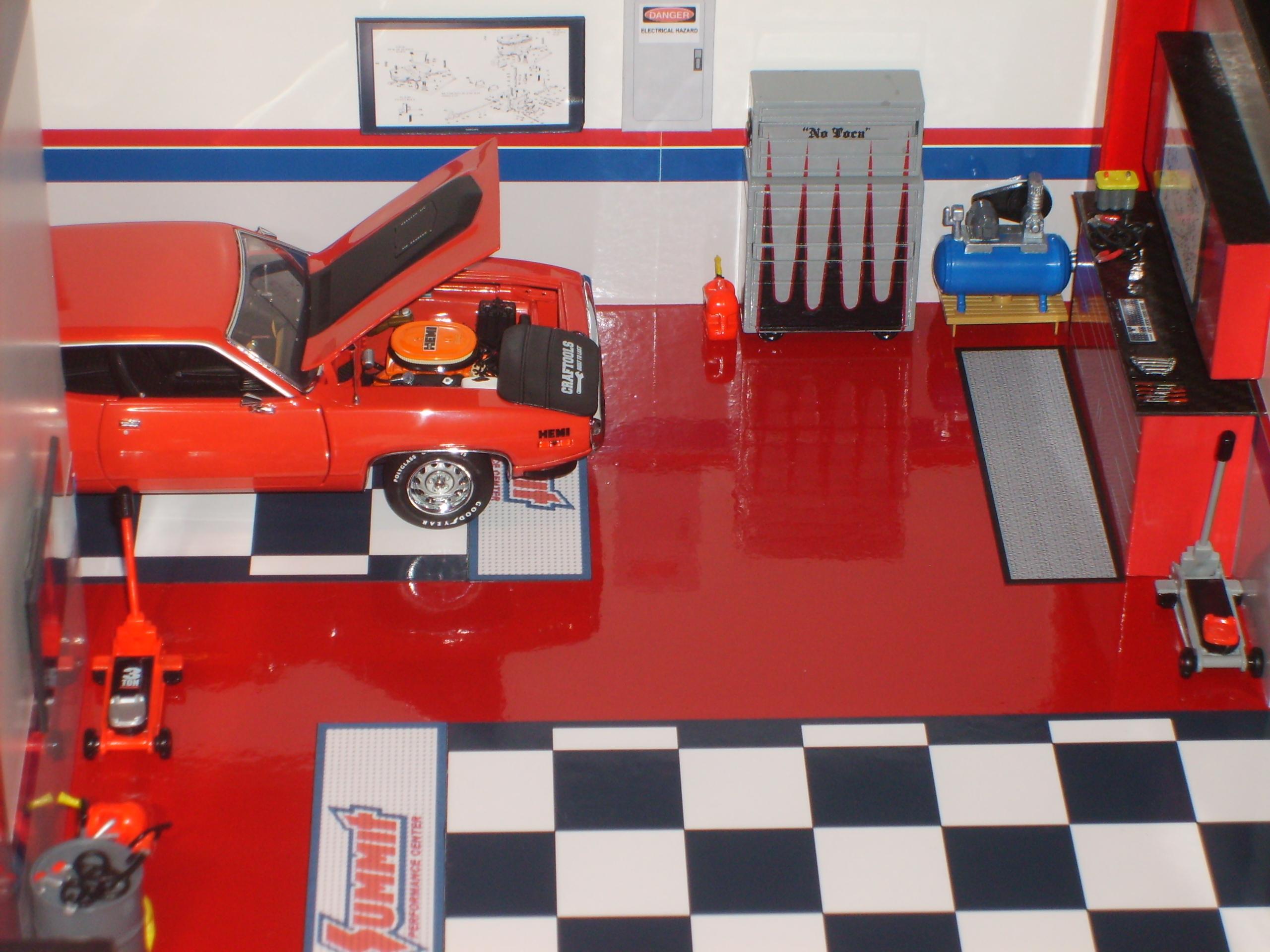 Model Car Garage Diorama Model Car Garage Diorama
