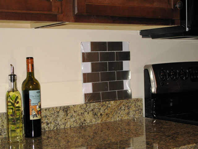 kitchen back-splash thoughts (granite, counter top, paint, tiles