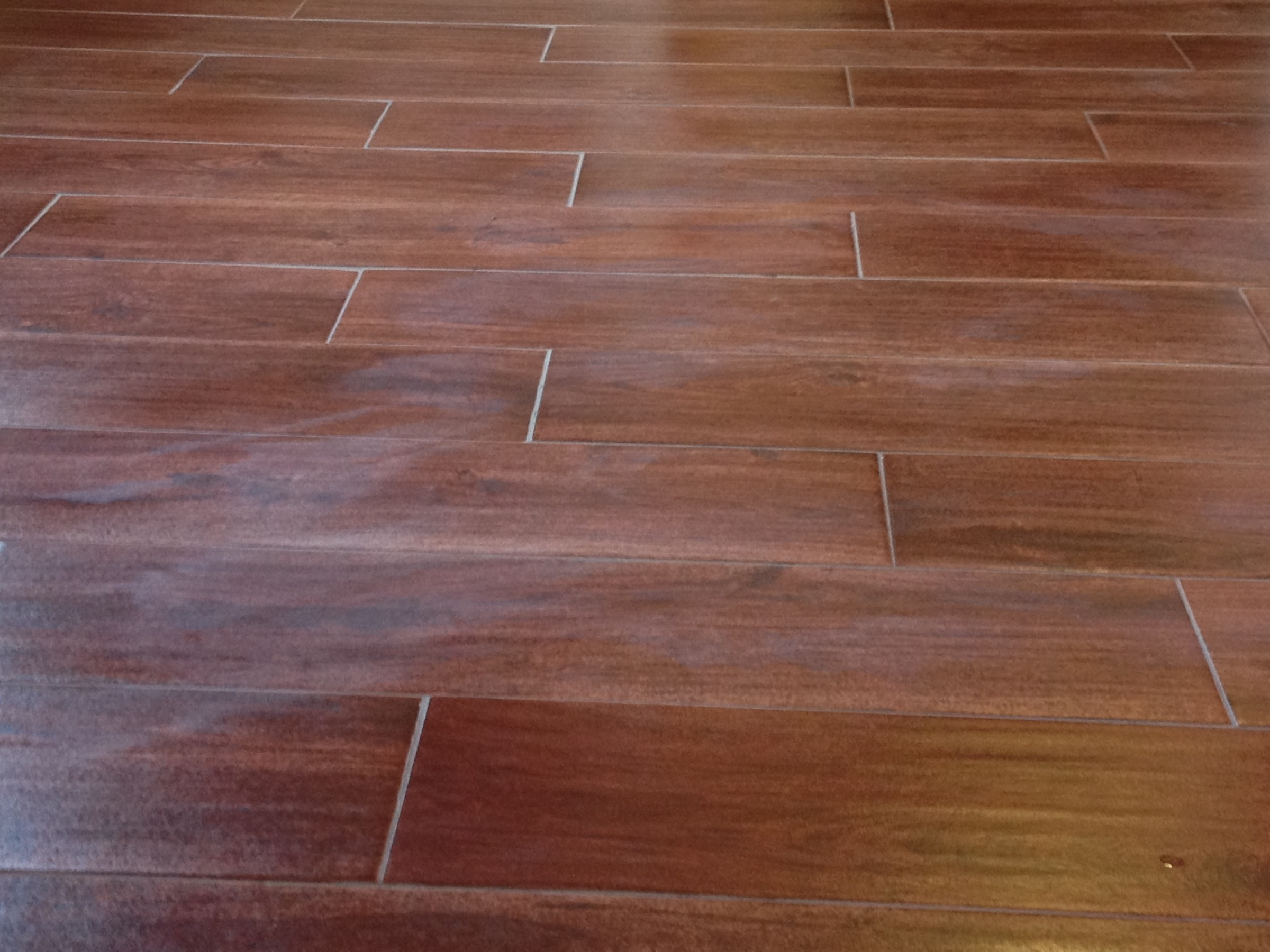 Grout Haze Left By Professional Tile Installer Tiles