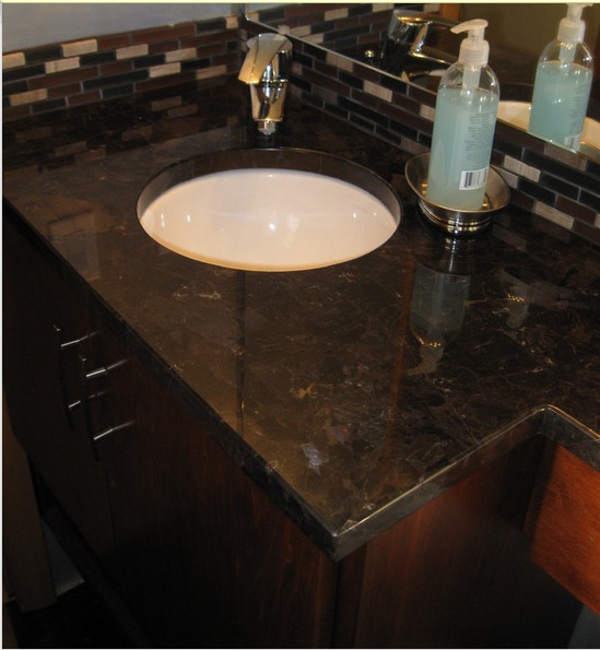 Antiqued Marble Countertops: Need Help With Granite For Knotty Alder Cabinets (floor Plan, Counter Top, Cabinet)