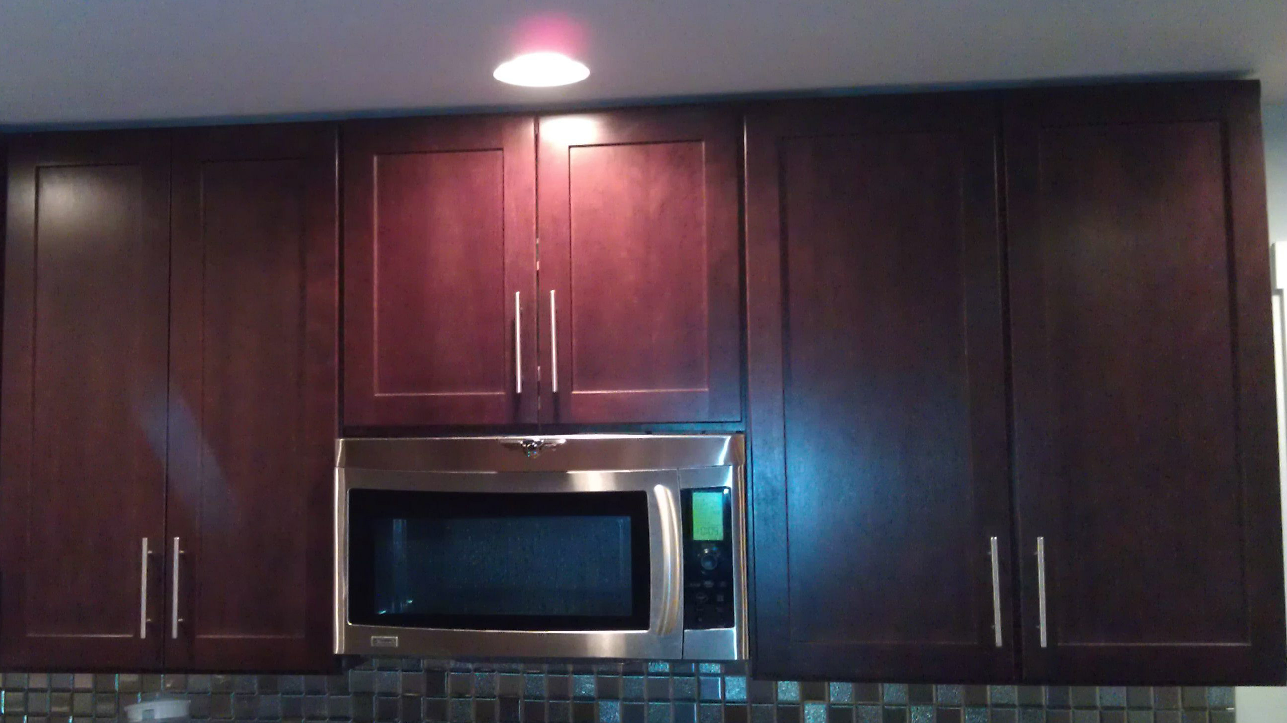 Kitchen Cabinets: Crown Molding Or Flush With Ceiling? Cabinets
