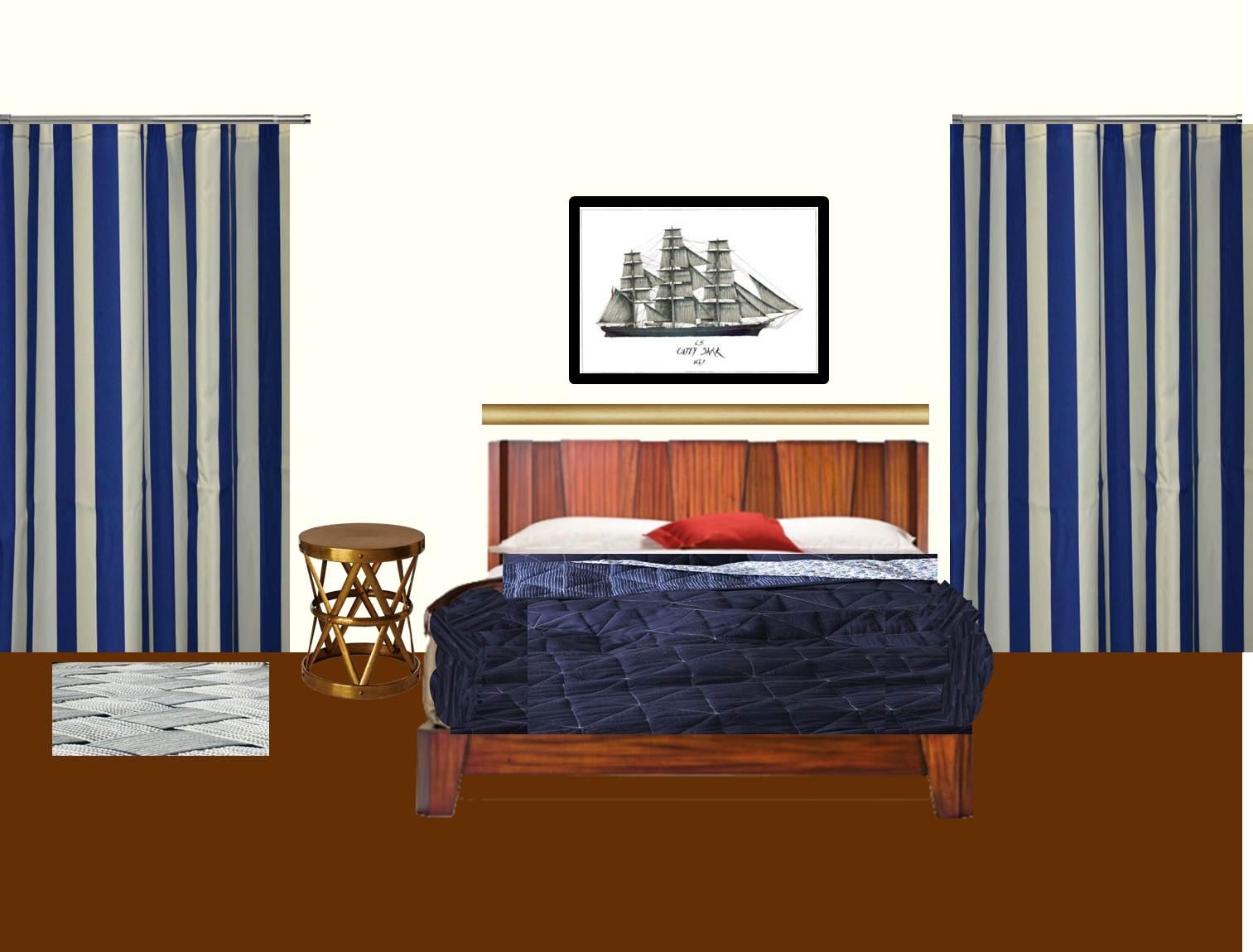 minimilist bedroom for a single man drape photos light design
