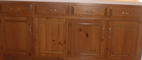 Help For Staining Knotty Alder Cabinets Paint Sand