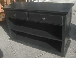 Name of this vintage Pottery Barn sideboard (photos, black