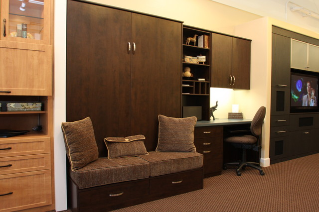 Apartment Office Murphy Beds: Super Small Apartments Under Square