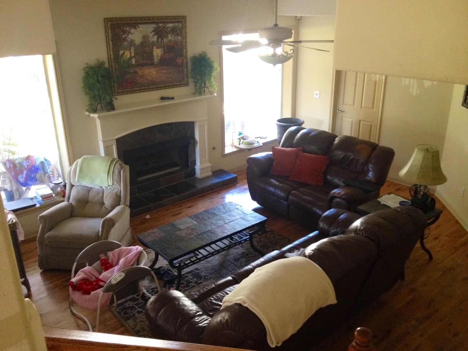 Okay everyone, I need help decorating!!! (mirror, fireplace, paint ...