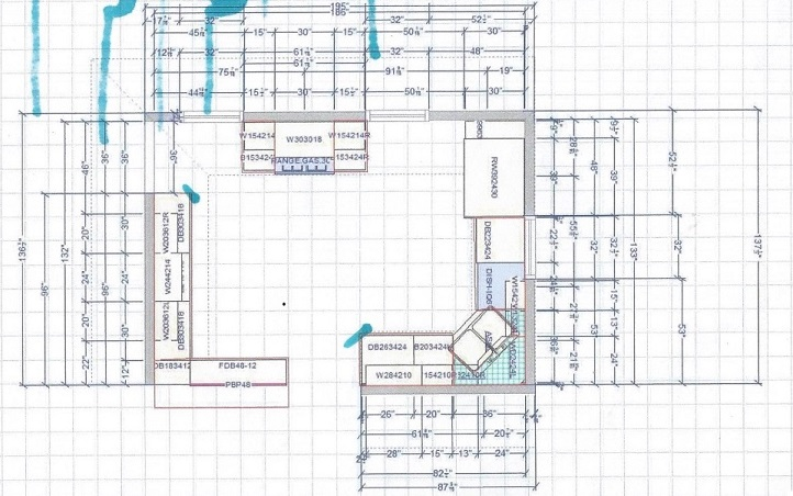Kitchen design help needed counter top sink cabinet stairs kitchen design help needed kitchen blueprint layout 3 bigger malvernweather Image collections