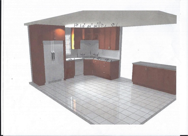 Kitchen Design Help kitchen design help needed! (counter top, sink, cabinet, stairs