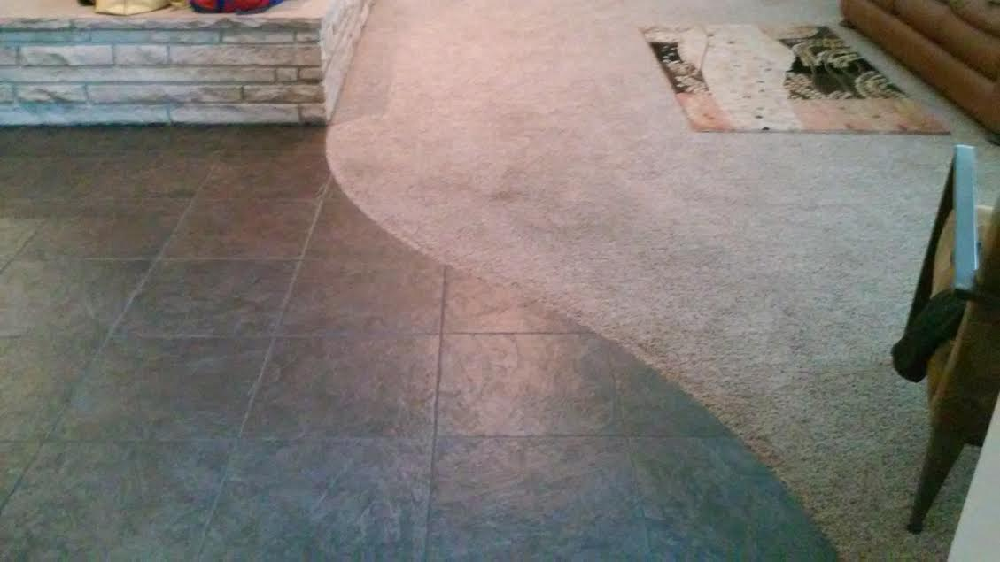 Need Advice Mixing Hardwood Floors Wexisting Dark Brown Tile