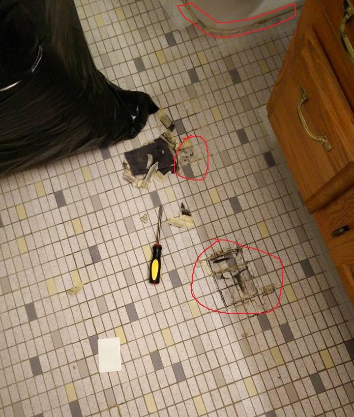 How To Fix Tiles In Bathroom Floor