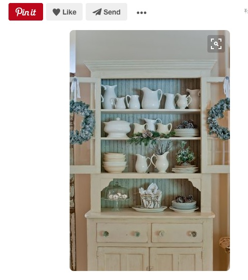 Decorating The Top Of A China Cabinet   Ideas Needed Cream Jug