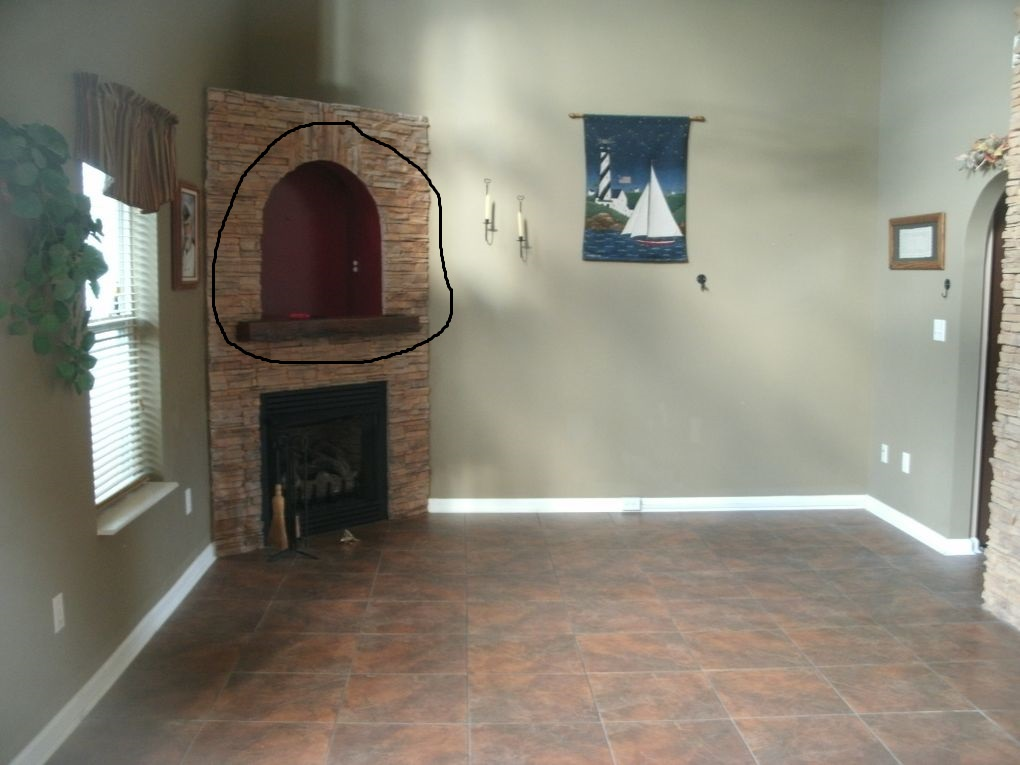 Above Fireplace Ideas Please paint ceiling colors lighting
