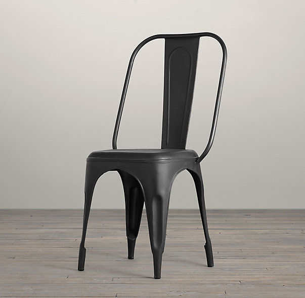 Metal Dining Chairs Industrial how comfortable are the rustic/industrial steel dining chairs
