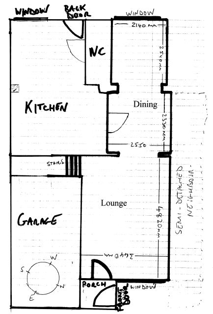 Room layout help floor plan cabinet stairs color for Room layout help