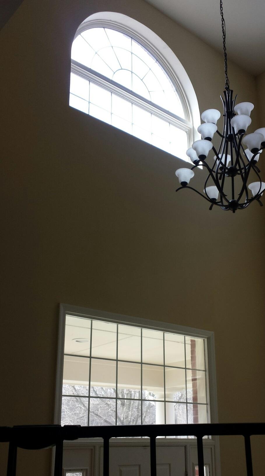 Foyer Window Shutters : Window treatment for high foyer shutters floors