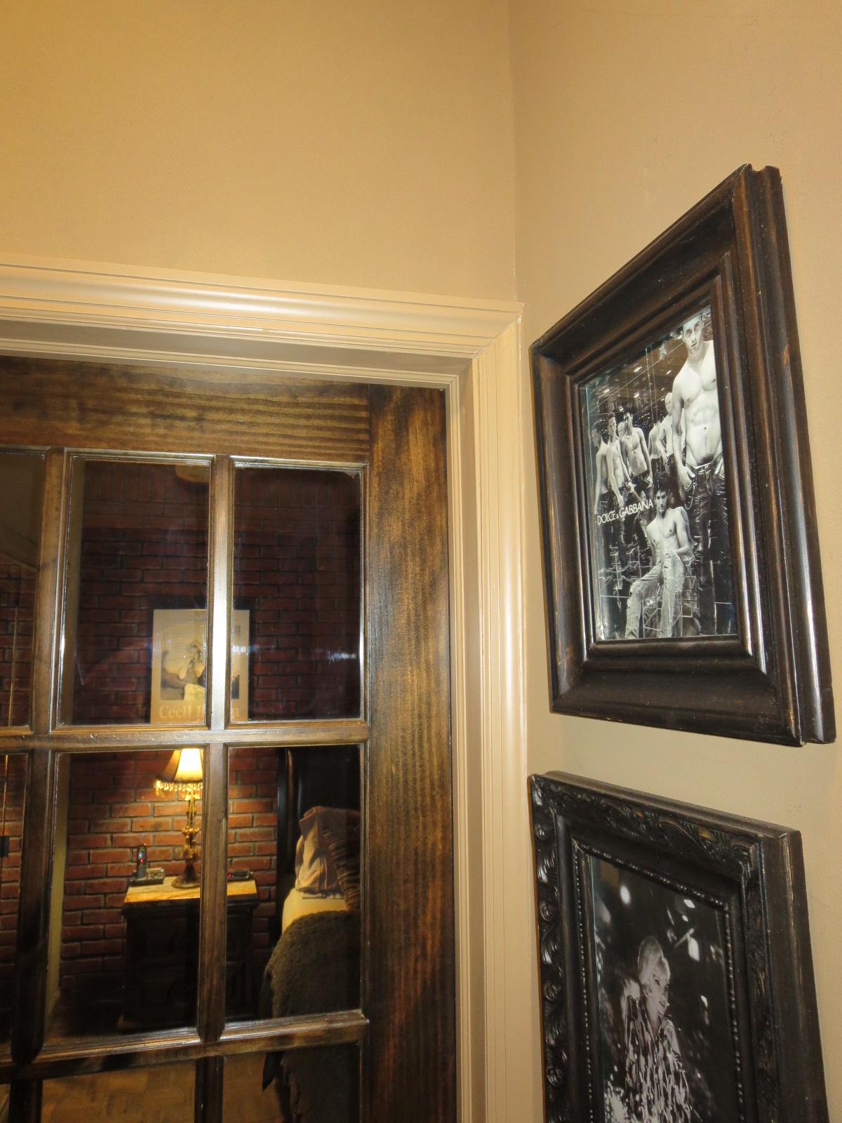 paint wood trim floor stairs doors light home. Black Bedroom Furniture Sets. Home Design Ideas