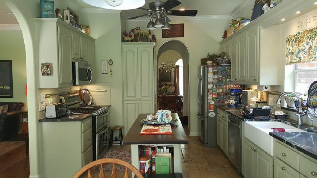 Please Help Me Think Through A Kitchen Remodel Pic Hardwood Floor Countertop Painting