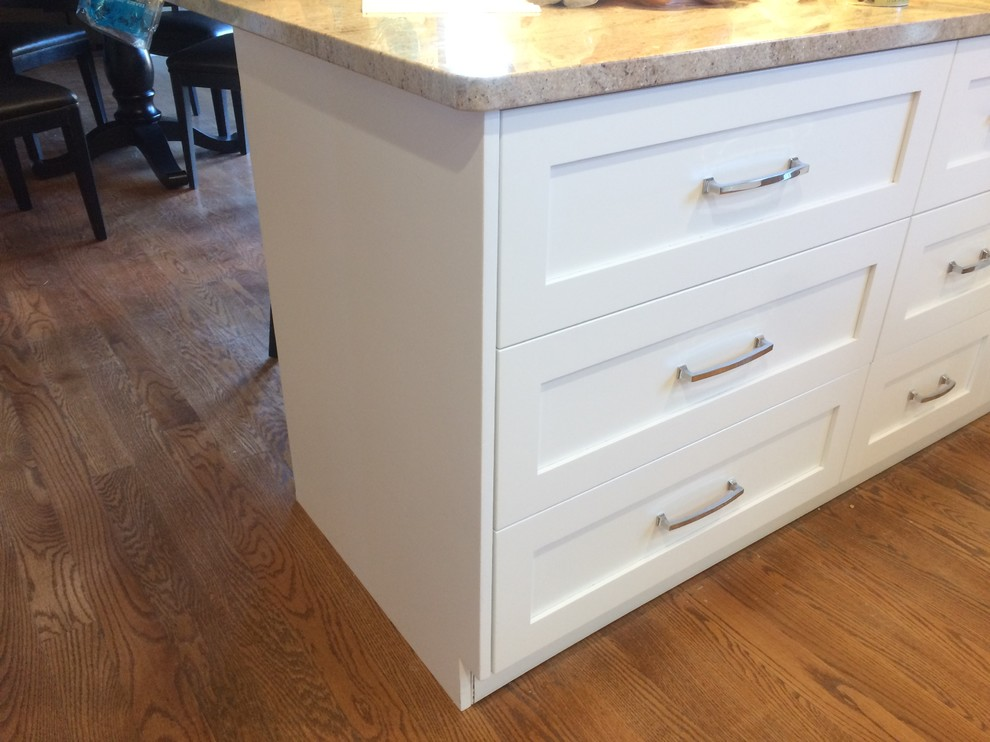 Kitchen Island Full Overlay Drawer Stacks Should End Panels Cover Drawers Panel Cabinet