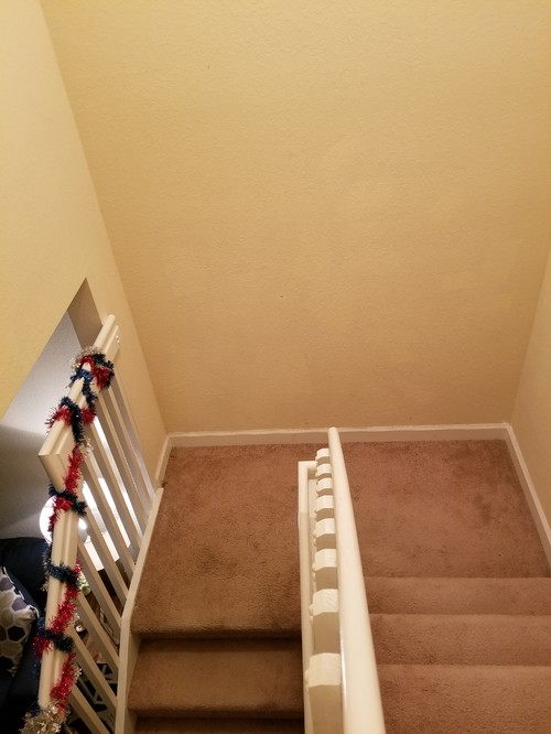 Stairs landing ideas? (mirror, paint, tiles, color) - Home ...