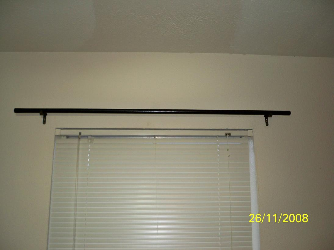 Superb 100_0144 Curtain Rod   Buy Or Build?