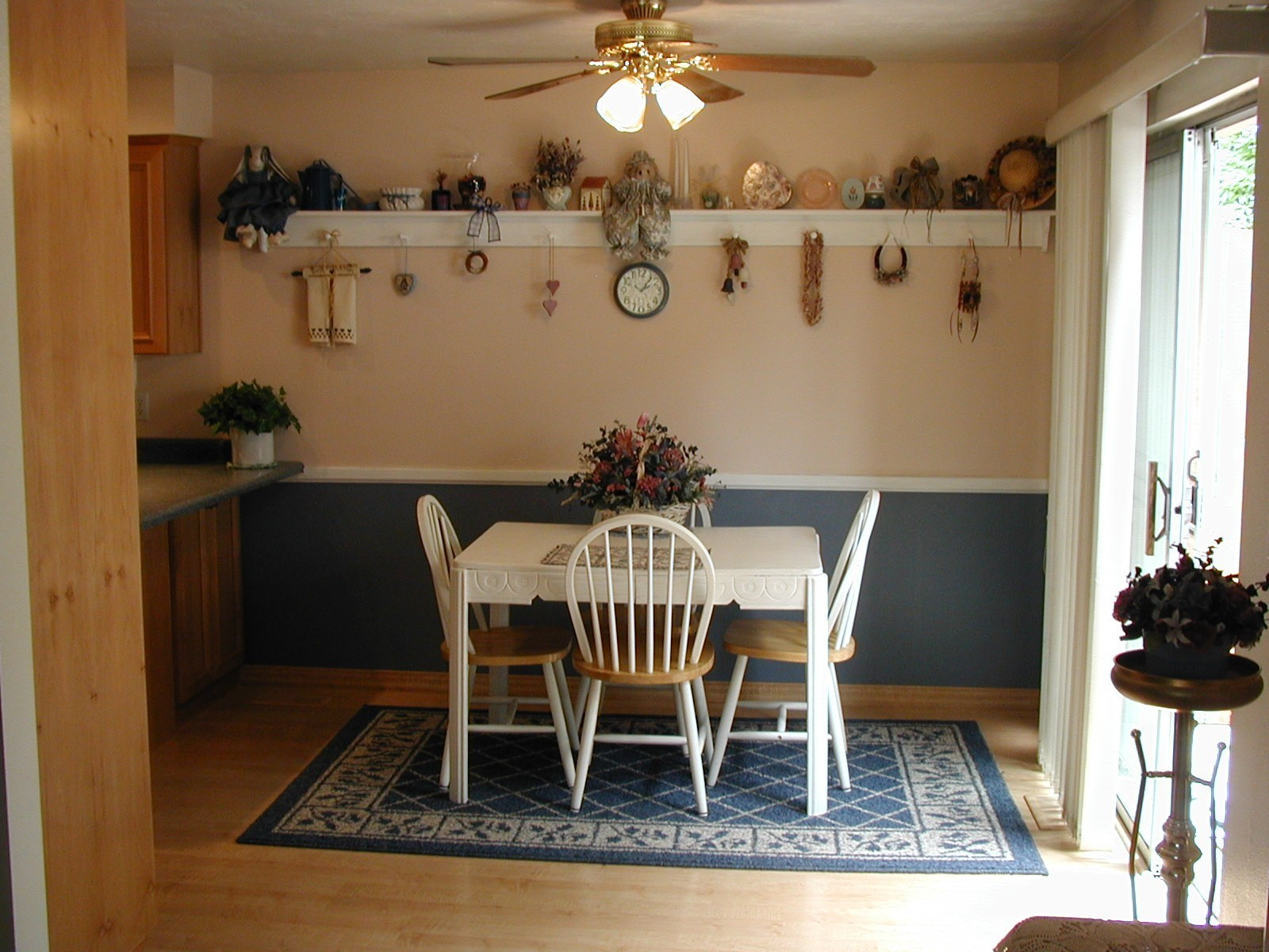 ceiling fan over kitchen table winda 7 furniture