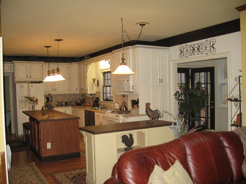 Decorating and inexpensive kitchen upgrade ideas vinyl for Cheap and easy kitchen remodeling ideas