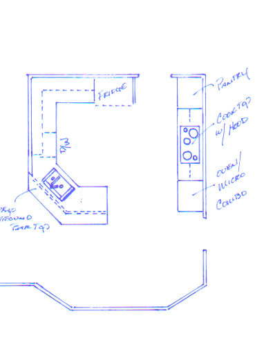 Kitchen layout help! (granite, counter, tiles, cabinets) - Page 2 ...